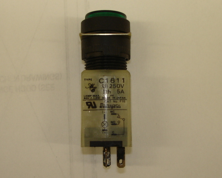 Primary image for Maruyasu 16mm Pushbutton Switch C1611