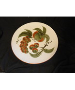 Stangl  Pottery Orchard Song Dinner Plate Fruits White Green MCM - $14.99