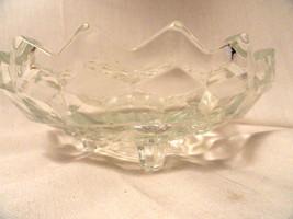Crystal Fostoria Elegant Glass 6 inch Footed Bo... - $4.99