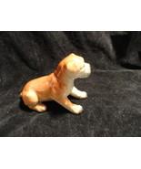 Small Porcelain Boxer Dog  Figurine - $4.99