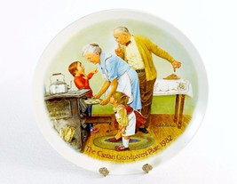 """""""The Cookie Tasting"""" ~ Joseph Csatari Collector Plate, Knowles China Co,... - $14.65"""