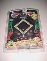 Hasbro Electronic Hand-Held Monopoly Jackpot Casino Style Black 1999 Game New - $29.69