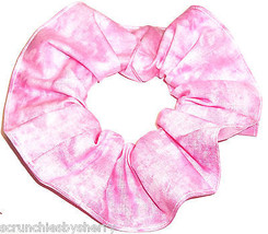Pink Varigated Hair Scrunchie Scrunchies by Sherry Ponytail Holder USA - $6.99