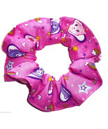Care Bears Pink Fabric Hair Scrunchie Scrunchies by Sherry Ponytail Hold... - $6.99