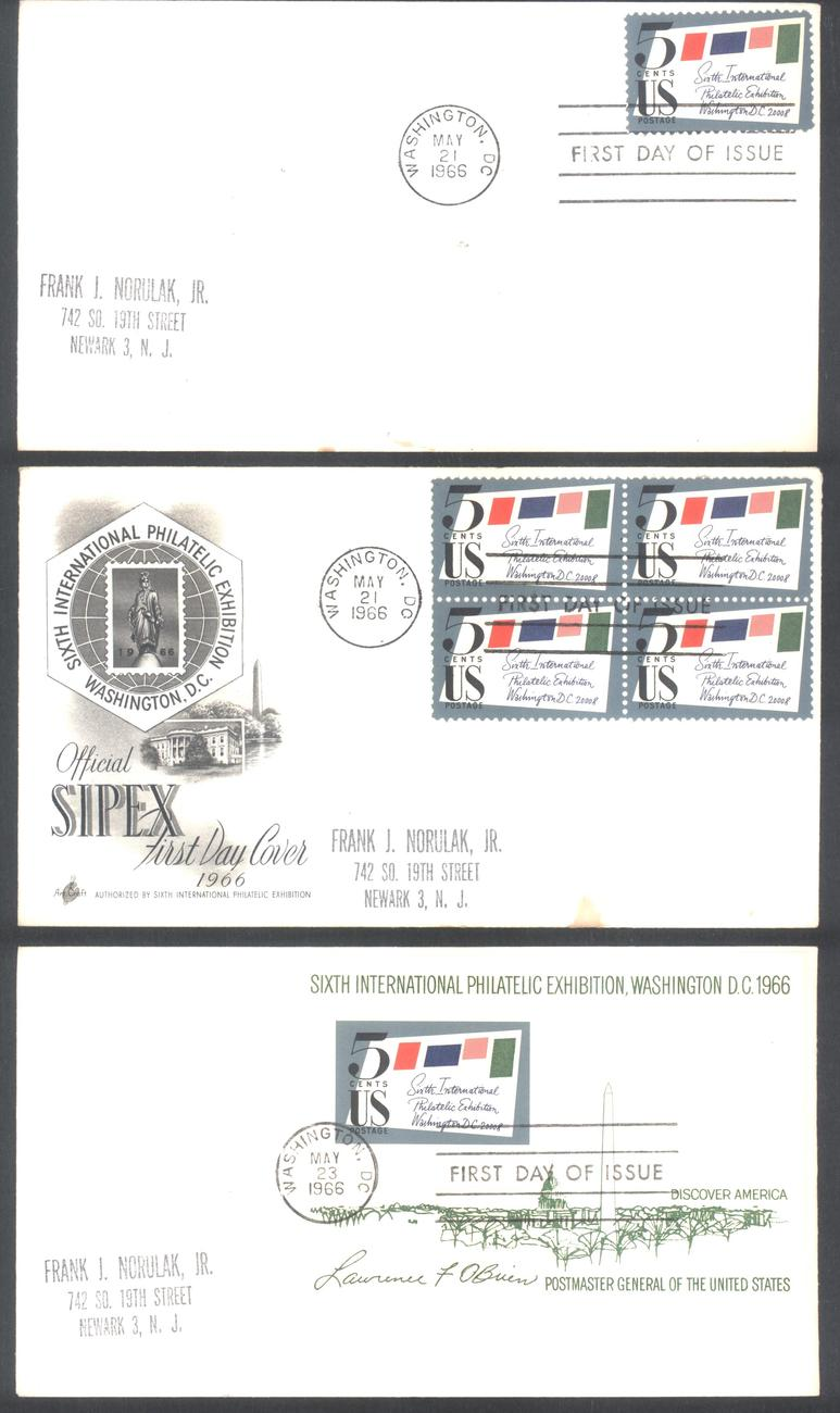 Sipex fdc