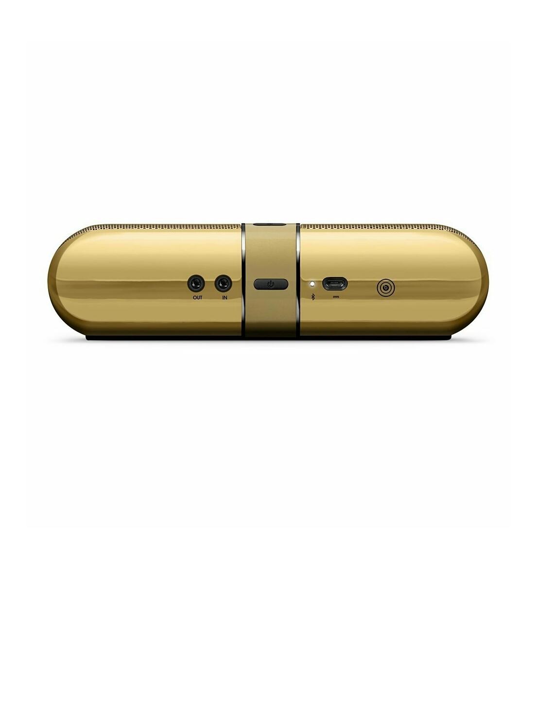 Beats Studio Wireless Gold and Pill 2.0 Portable Bluetooth ...