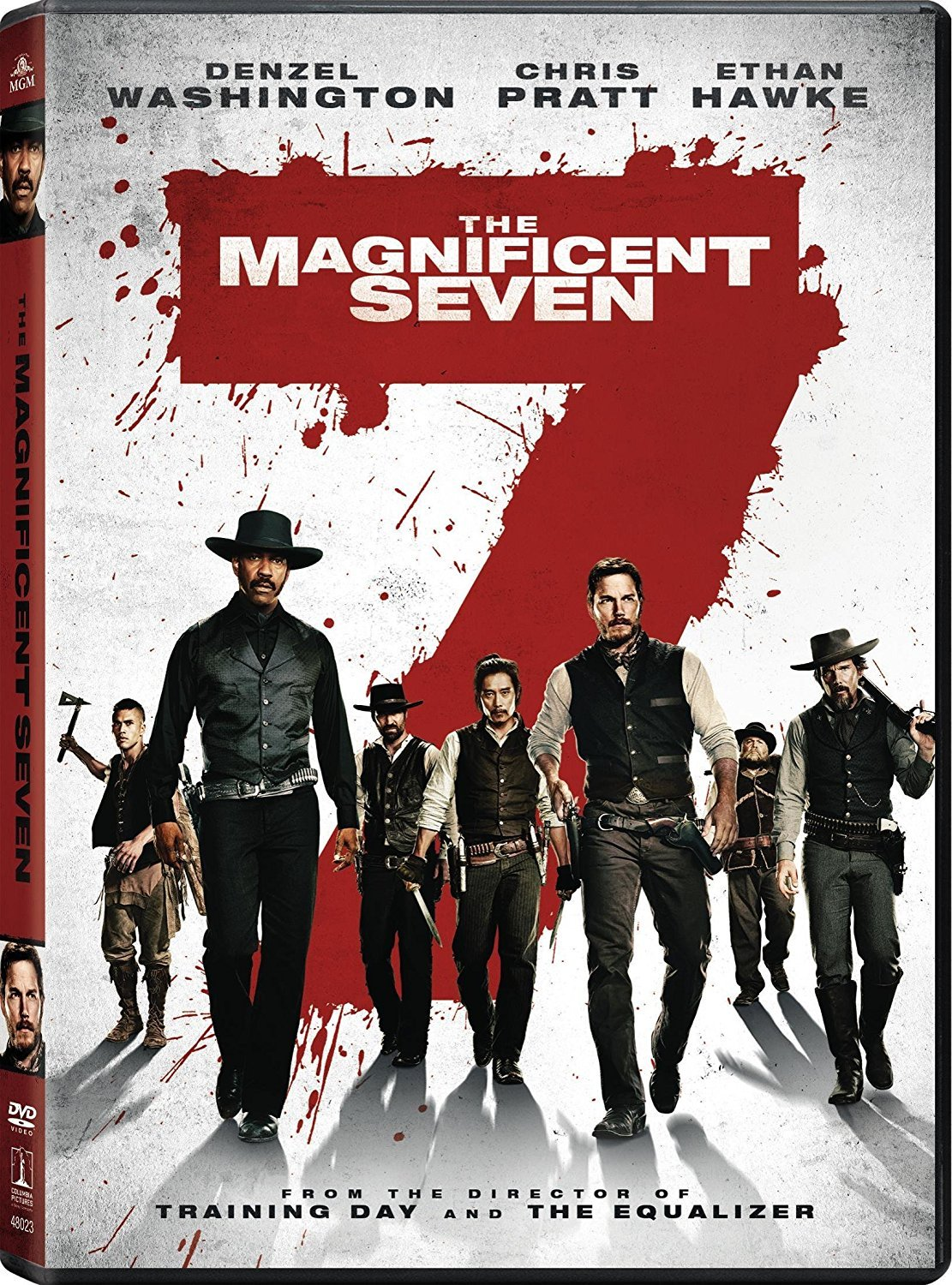 The Magnificent Seven [2016, DVD]