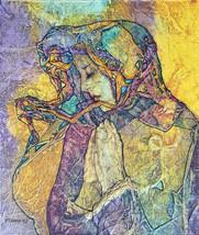 Madonna SILENT PRAYER Virgin Mary Print 8.5x11 - $20.00