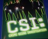 CSI: Crime Scene Investigation - The Complete First Season (DVD, 2003, 6-Disc...