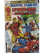 """Marvel Team-Up #72 : Featuring Spider-Man and Iron Man in """"Crack of the ... - $17.50"""