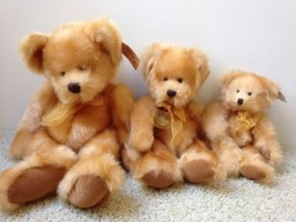 Below Wholesale Lot RUSS Bears from the Past Family Set of 3 NWT - $28.88