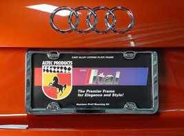 License Plate Frame Altec ltal Premier Chrome C... - $73.55
