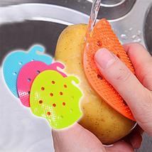 Multi -Functional Fruit Vegetable Cleaning Brush Scrubber Kitchen Potato... - $2.49