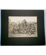 1903 Photograph of Military Company in So. Framingham Camp (Massachusetts) - $23.75