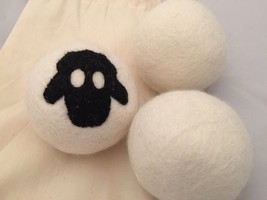 Lamb Wool Dryer Balls, pack of 3 - $9.90