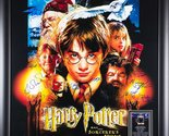 Harry Potter And The Sorcerer's Stone - Signed Movie Poster 27x41 Framed + COA