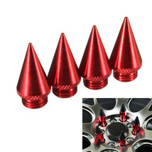 4PCs Four Red 30mm Extended Tuner Spikes For Lu... - $7.18