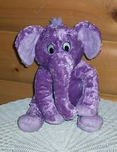 "Dr Seuss The Nose Book Purple Elephant Soft Plush 11"" Kohls Childrens Program - $7.89"