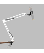 Professional Recording Cantilever Microphone Stand White - £25.27 GBP