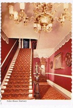 Colorado Postcard Central City Teller House Hotel Stairway - $2.22