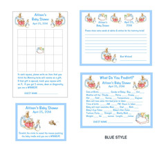 Beatrix Peter Rabbit Baby Shower Game Package #1 - £15.27 GBP