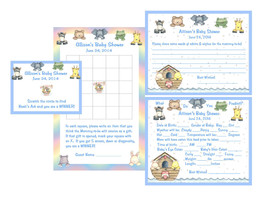 Noah's Ark Baby Shower Game Package #1 - $20.00