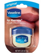 Vaseline Pure Petroleum Jelly Lip Therapy Soft Smooth Moisture Dry Lips ... - $5.93