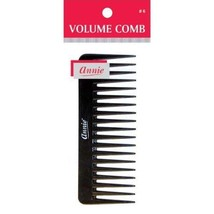 Annie Volume Comb Hair Brush Style Barber Cut Curly Long Short Natural B... - $4.90