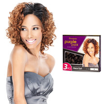 Outre Premium Purple Pack 3PCS Human Hair Blend Weaving Extension - Disco Curl - $9.89+