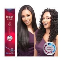 "Duvessa Indian Remi Wet & Wavy 100% Human Hair Weaving 14""16""18""  Wavy I... - $98.99+"
