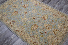 12x15 Traditional Pakistan Woven Hand Knotted Vegetable Dyed Blue Wool A... - $13,129.00