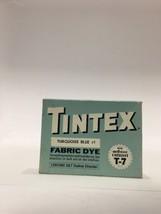 Vintage Tintex Fabric Dye - Turquoise Blue #1 -... - $16.79