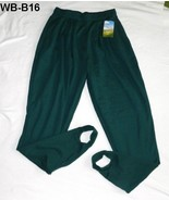 Willow Bay Size 14W/16W Average Green Stirrup Pants  NWT - $17.99