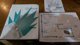 "InFocus LP280 / LP290 Computer PROJECTOR ""USER'S GUIDE"" Manual with Onli... - $7.61"