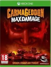 Carmageddon Max Damage XBOX ONE NEW Sealed Free Post - $35.06