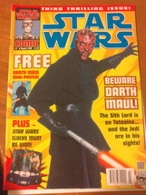 Star Wars Comic 1999 Titan Magazine No 3 Episode 1 Very Good Condition - $4.61