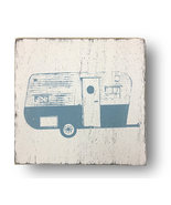 Rustic Wooden Sign Retro Camper 12 x 13  Distressed Home Decor Sign Item... - $24.00
