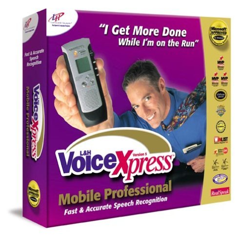 L&H Voice Xpress Mobile Pro 5.0 [CD-ROM] Windows NT / Windows 98 / Windows 2000