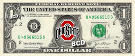 OHIO STATE BUCKEYES on a REAL Dollar Bill Cash Money Collectible Memorab... - $7.77