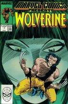 Marvel Comics Presents #3 : Wolverine, Man-Thin... - $1.95