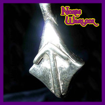 Tiwaz, The Warrior Rune Pendant! Courage Knowledge Victory! Tyr Viking haunted - $299.99