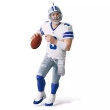 Tony Romo 2016 Hallmark Ornament 9 NFL Football Dallas Cowboys Quarterba... - $18.80