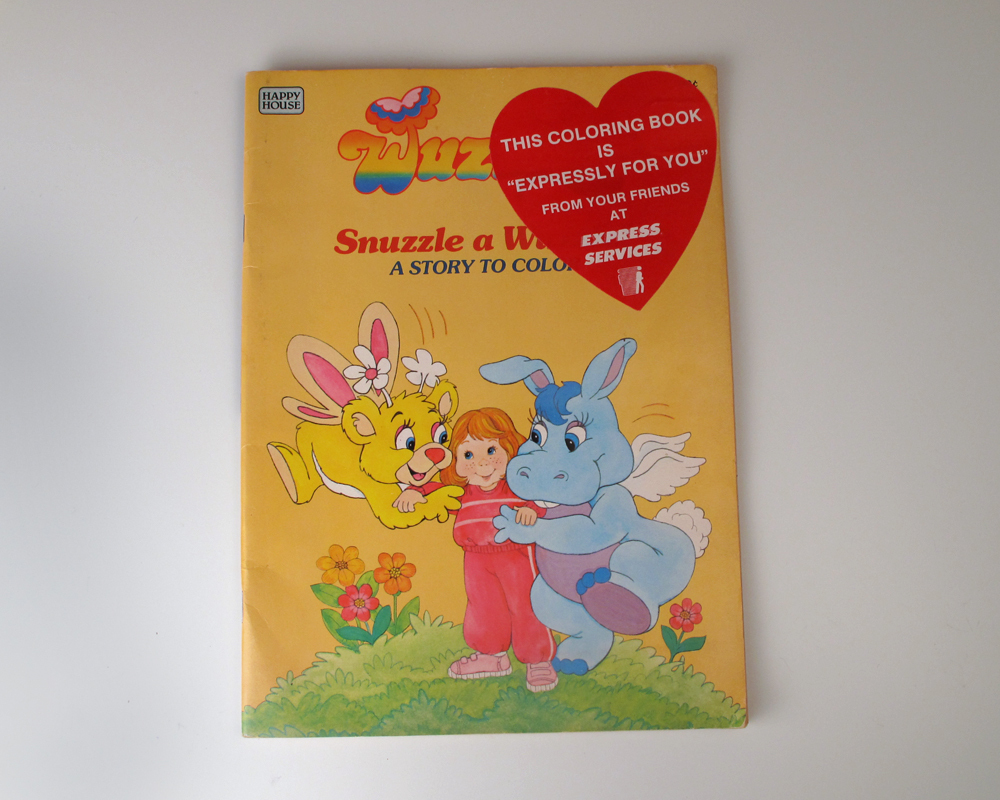 Wuzzles Coloring Book: Snuzzle a Wuzzle and 50 similar items