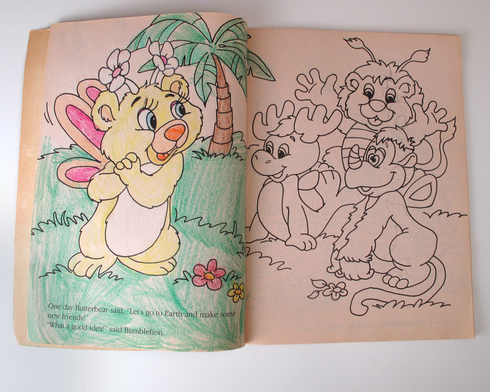 FREE COLORING PAGES: Cute Animals Wuzzles Coloring Pages To Kids | 800x1000