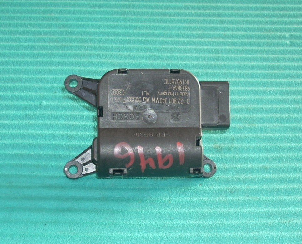 2012 VW GOLF HEATER BOX BLENDER ACTUATOR   1K1907511C