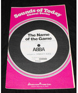 Abba The Name Of The Game SATB songsheet - $15.99
