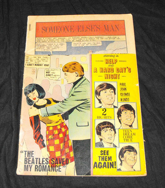 beatles summer love comic #47 charlton october 1966