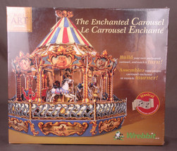 The Enchanted Carousel-Build Art Collection-Musical-Wrebbit-Family Game ... - $51.41