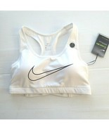 Nike Women Classic Padded Support Bra - AT4288 - White 100 - Size XS -  NWT - $21.99