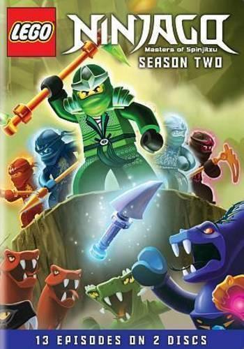 LEGO Ninjago: Masters of Spinjitzu Complete Second Season 2 (DVD) New TV Series